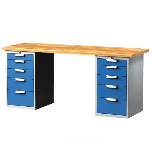 480eb4067680 Pracovný stôl so zásuvkovými kontajnermi 2000 mm empty